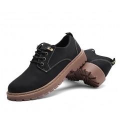 Низкие мужские ботинки черные