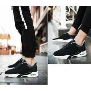 Спортивні теплі зимові чорні кросівки