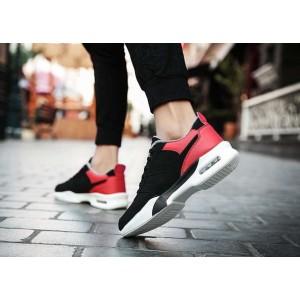 Спортивні теплі зимові червоні кросівки