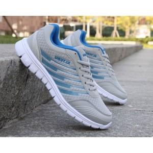 Недорогі чоловічі літні кросівки сір