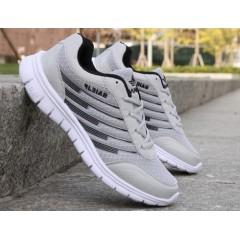 Недорогі чоловічі літні кросівки сірий