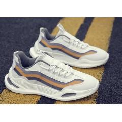 Мужские кроссовки с разноцветными полосками