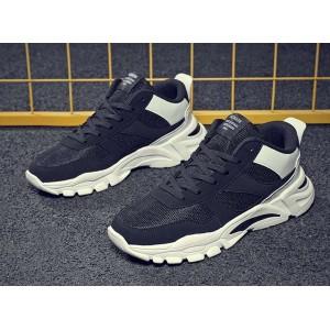 Черно белые мужские универсальные кроссовки