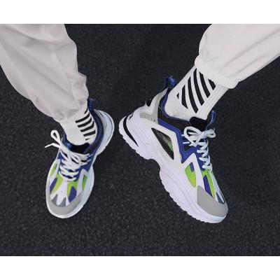Универсальный мужские спортивные кроссовки синие
