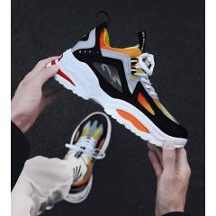 Универсальный мужские спортивные кроссовки оранжевые