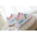 Розовые летние женские кроссовки