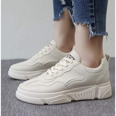 Классические кроссовки женские бежевые