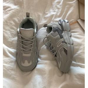 Ретро кроссовки мужские и женские серые - спортивная обувь олдскул