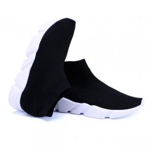 Чорні кросівки шкарпетки недорого