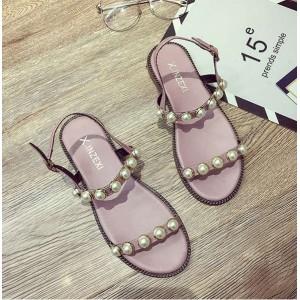 Літні рожеві жіночі сандалі недорогі