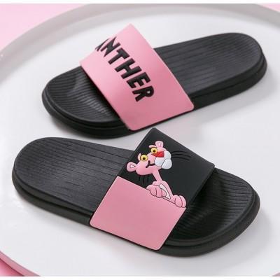 Открытые летные тапочки с Розовой Пантерой