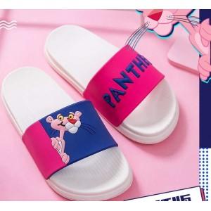 Відкриті рожеві літні тапочки з Рожевою Пантерою