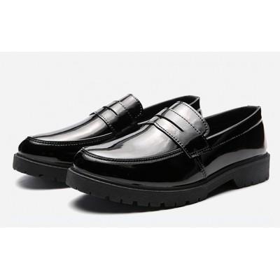 Черные лоферы для мужчин